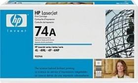 HP Toner 74A schwarz (92274A)