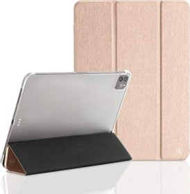 "Hama Tablet Case Fold Clear für Apple iPad Pro 12.9"" (4. Generation / 2020), rosegold (188438)"