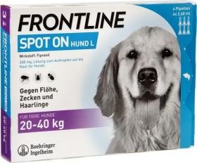 Frontline Spot on Hund L H 40, 6 Pipetten