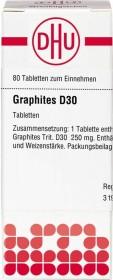 DHU Graphites D30 Tabletten, 80 Stück