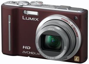 Panasonic Lumix DMC-TZ10 brown