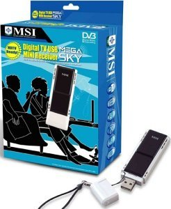 MSI mega Sky 580 DVB-T-Receiver USB 2.0 (MS-5580-010/-020)