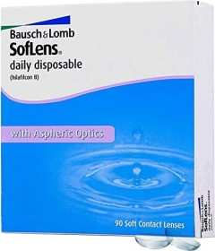 Bausch&Lomb SofLens daily disposable, -2.50 Dioptrien, 90er-Pack