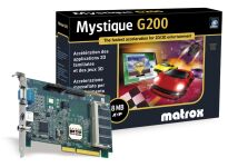 Matrox Mystique G200 retail