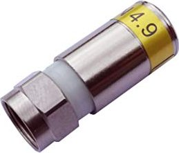 Cabelcon F-56 CX3 4.9 yellow compression connector 1 piece