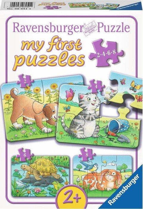 Ravensburger Puzzle Niedliche Haustiere (06951)