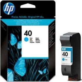 HP Druckkopf mit Tinte 40 cyan (51640CE)