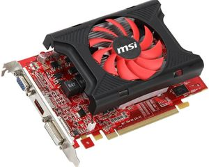 MSI R6670-MD1GD3, Radeon HD 6670, 1GB DDR3, VGA, DVI, HDMI (V811-024R)