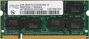 Aeneon SO-DIMM 2GB, DDR2-800, CL5 (AET860SD00-25D)