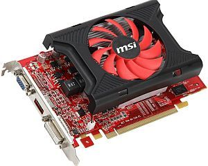 MSI R6670-MD2GD3, Radeon HD 6670, 2GB DDR3, VGA, DVI, HDMI (V811-021R)