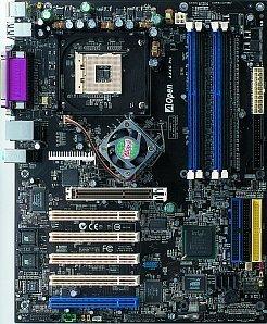 AOpen AX4C Max II, i875P (dual PC-3200 DDR)