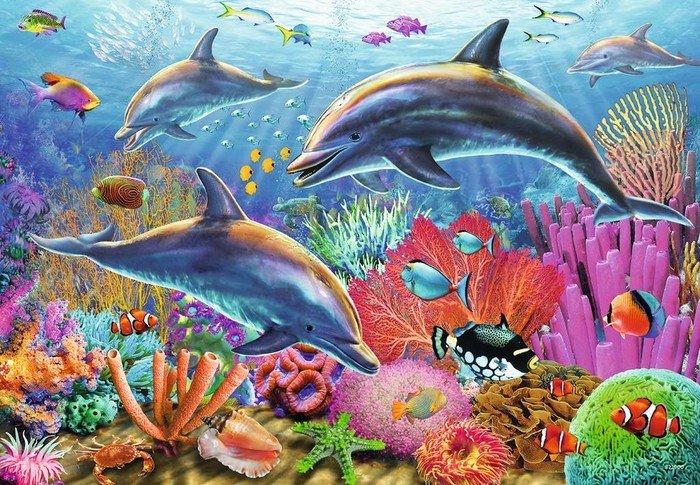 Ravensburger Puzzle Bunte Unterwasserwelt (09017)