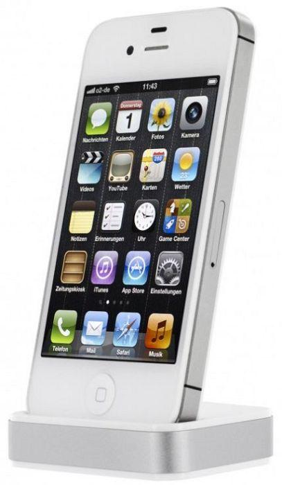 Artwizz Dock für iPhone 4/4S weiß