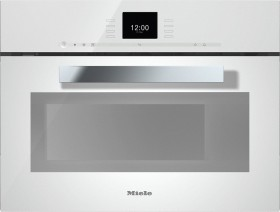 Miele DGM 6600 steamer with microwave brilliant white (10342870)