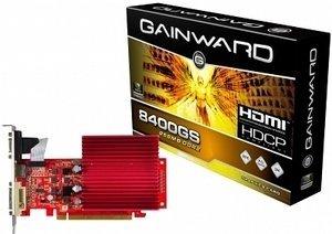Gainward BLISS GeForce 8400 GS passive, 256MB DDR2, VGA, DVI, HDMI (1275)