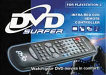 Datel DVD-Surfer - Fernbedienung mit IR-Modul, DVD & Audio CD (PS2)