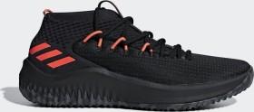 adidas Dame 4 core black/dgh solid grey/hi-res red (Herren) (BB9242)