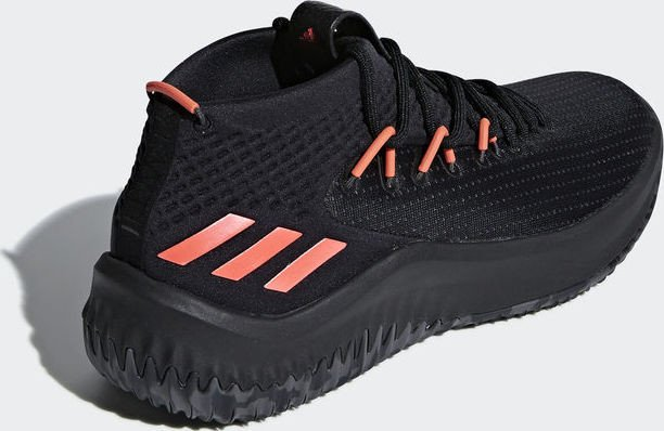 adidas Dame 4 core blackdgh solid greyhi res red (Herren) (BB9242) ab € 90,22