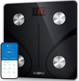 Renpho ES-CS20M-B electronic body analyser scale black