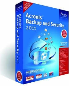 Acronis Backup and Security 2011 (PC) (BSHQBZDES)