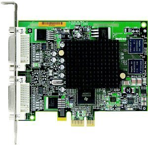 Matrox Millennium G550, 32MB DDR, 2x DVI, TV-out (G55-MDDE32F)