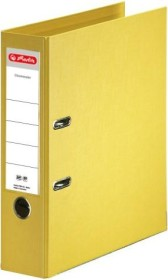 Herlitz maX.file protect plus Ordner A4, 8cm, gelb (10834356)