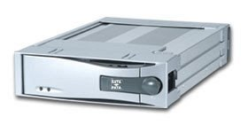 Icy Dock MB123EK FireWire hard drive caddy [various colours]