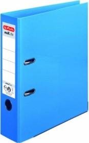 Herlitz maX.file protect plus Ordner A4, 8cm, hellblau (10834422)