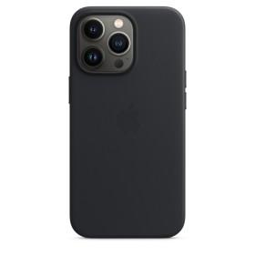 Apple Leder Case mit MagSafe für iPhone 13 Pro Mitternacht (MM1H3ZM/A)