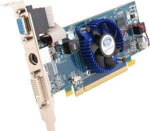 Sapphire Radeon HD 4550, 512MB DDR3, VGA, DVI, TV-out, lite retail (11141-01-20R/-21R)
