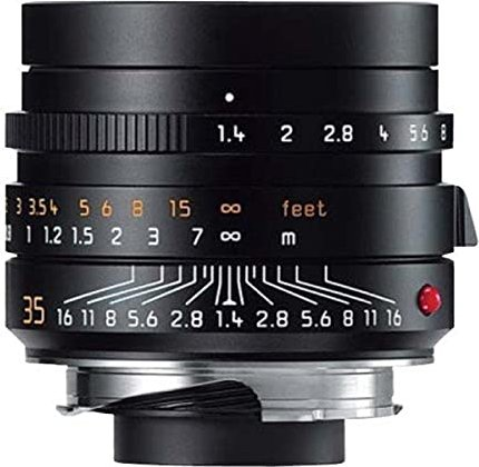 Leica Summilux-M 35mm 1.4 ASPH black (11663) -- via Amazon Partnerprogramm