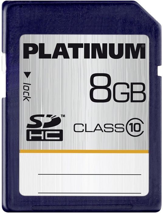 BestMedia Platinum SDHC 8GB, Class 10 (177116)