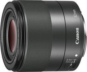 Canon EF-M 32mm 1.4 STM schwarz (2439C005)