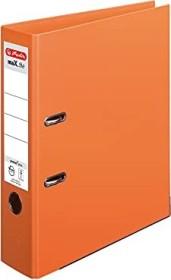 Herlitz maX.file protect plus Ordner A4, 8cm, orange (10834471)