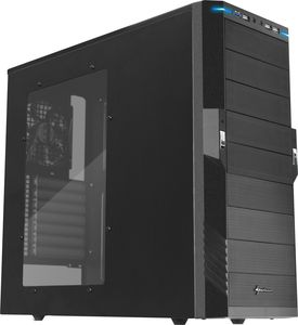 Sharkoon T9 Value black with side panel window