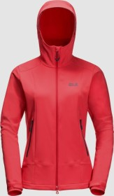 Jack Wolfskin Mountain Tech Jacke tulip red (Damen) (1306561-2058)