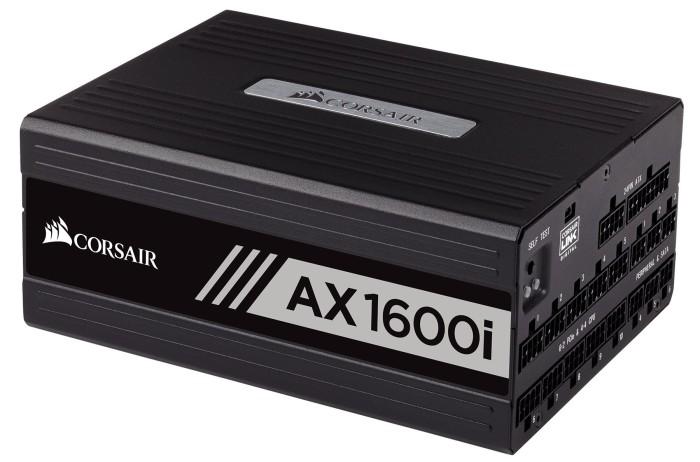 Corsair AX1600i digitales PC-Netzteil Voll-Modulares Kabelmanagement, 80 Plus Titanium, 1600 Watt, EU