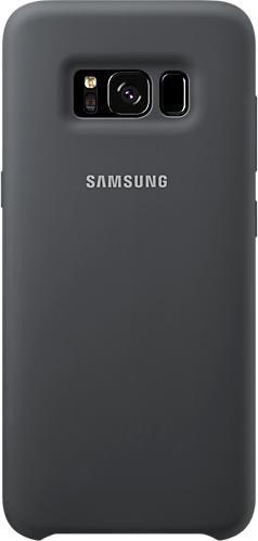 Samsung Silicone Cover for Galaxy S8 dark grey (EF-PG950TSEGWW)
