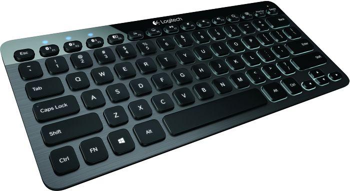 Logitech K810 Bluetooth Illuminated Keyboard, Bluetooth, DE (920-004297)