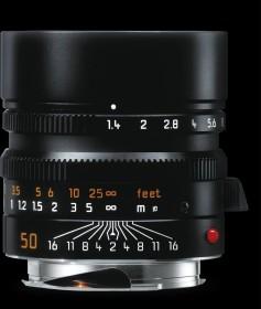 Leica Summilux-M 50mm 1.4 ASPH schwarz