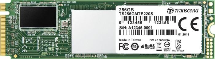 Transcend PCIe SSD 220S 256GB, M.2 (TS256GMTE220S)