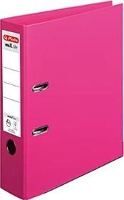 Herlitz maX.file protect plus Ordner A4, 8cm, fuchsia (10834497)