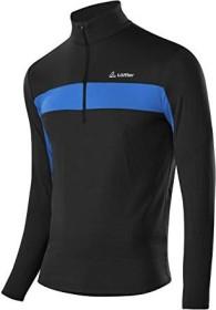 Löffler Pulli Marco Thermo Velours Shirt langarm black/mauritius (Herren) (21858-947)