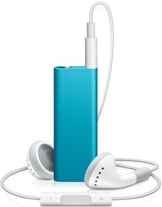 Apple iPod shuffle 4GB blue (3G) (MC328*/A) (09/2009)