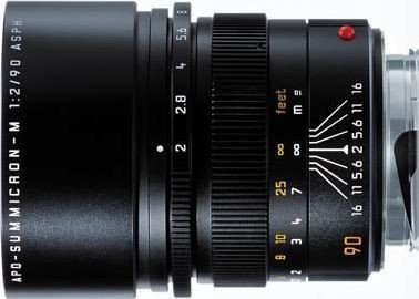 Leica APO-Summicron-M 90mm 2.0 ASPH czarny -- via Amazon Partnerprogramm