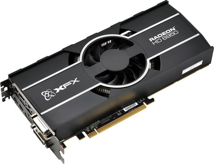 XFX Radeon HD 6950 800M Single Fan, 1GB GDDR5, 2x DVI, HDMI, 2x mini DisplayPort (HD-695X-ZNFC)