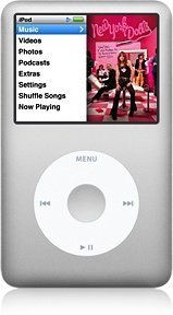 Apple iPod classic 160GB silber (MC293x/A)