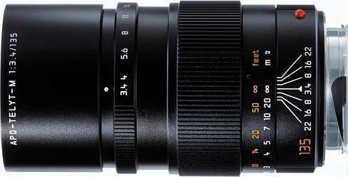 Leica APO-Telyt-M 135mm 3.4 schwarz