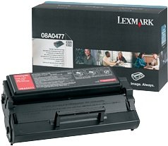 Lexmark Toner 08A0477 black high capacity