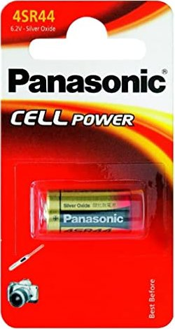Panasonic 4SR44, Silber, 6V -- via Amazon Partnerprogramm